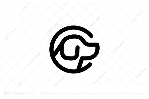Logo for sale: Dog C Logo