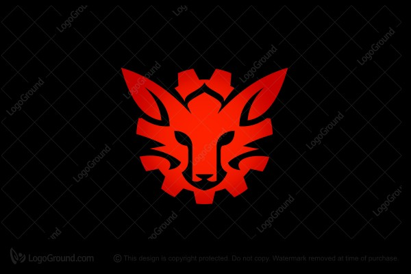 Logo for sale: Fox Gear Logo