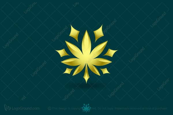 Logo for sale: Cannabis Star Logo