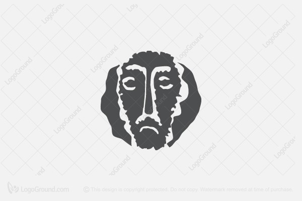 Logo for sale: Man Face Logo