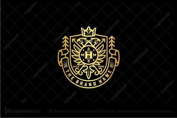 Logo for sale: Coat Of Arms Logo