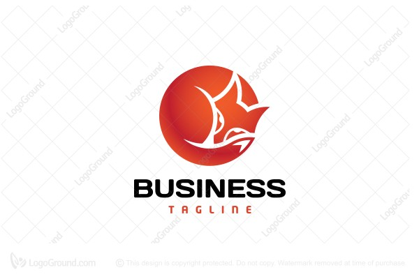 Logo for sale: Sleeping Red Fox Logo