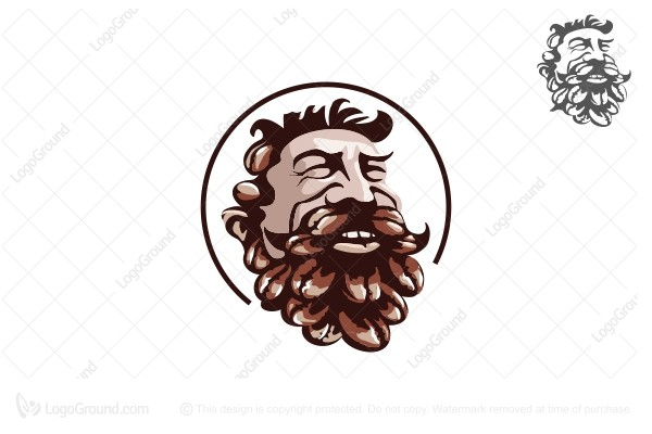 Logo for sale: Coffee Man Logo