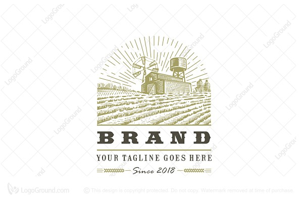 Logo for sale: Farm Logo