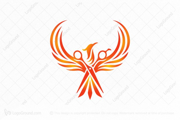 Logo for sale: Phoenix Barber Shop Logo