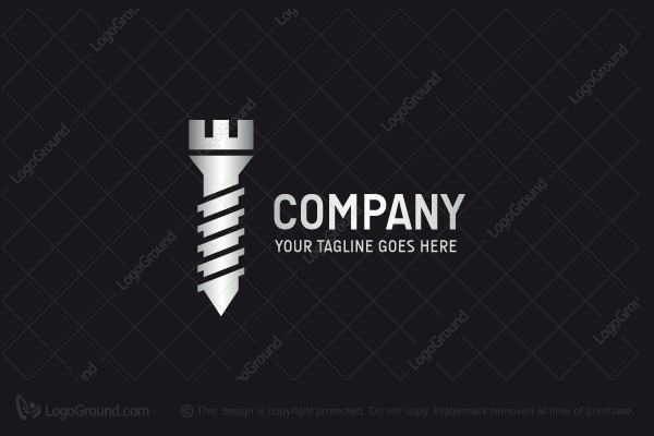 Logo for sale: Screw Tower Logo