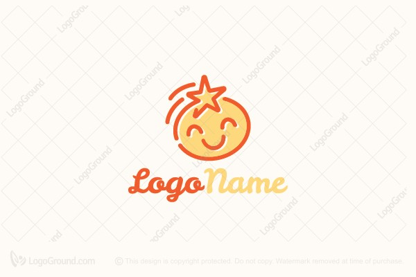 Logo for sale: Star Child Logo