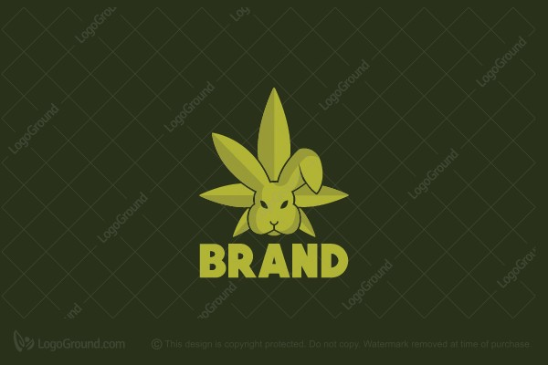 Logo for sale: Cannabis Rabbit Logo