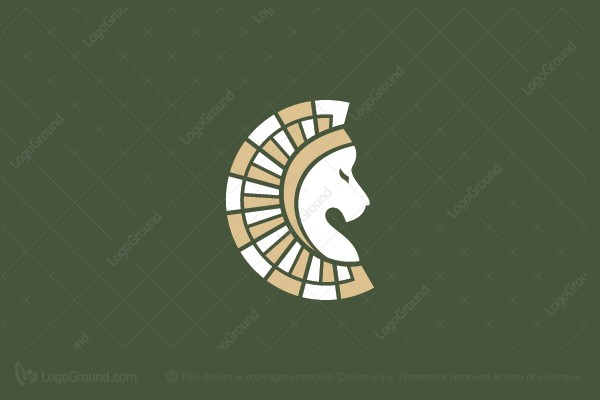 Logo for sale: Lion Crown Logo
