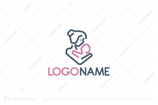 Logo for sale: Baby Care Logo