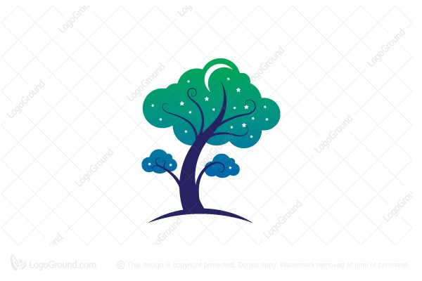 Logo for sale: Tree Of Dreams Logo