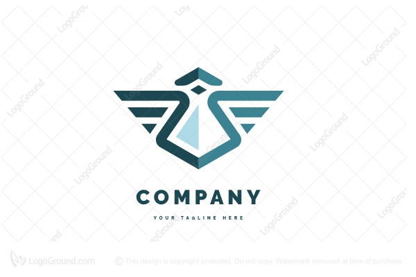 Logo for sale: Lab Wing Logo