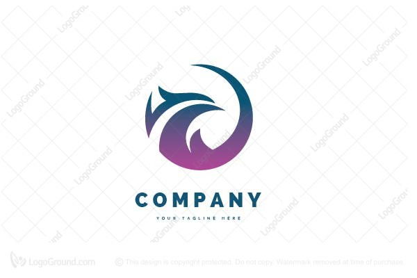 Logo for sale: Phoenix Round Logo