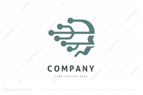 Logo for sale: Human Tech Logo