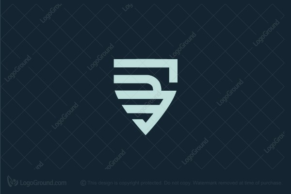 Logo for sale: Shield Wing Logo