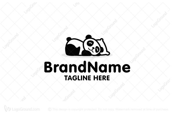 Logo for sale: Little Panda Logo