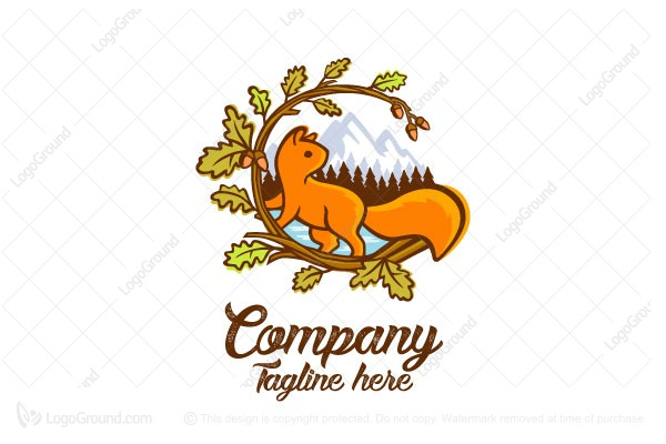 Logo for sale: Squirrel Peak Logo