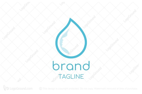 Logo for sale: Beauty Drop Logo