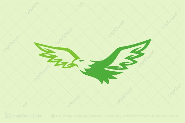 Logo for sale: Green Eagle Logo