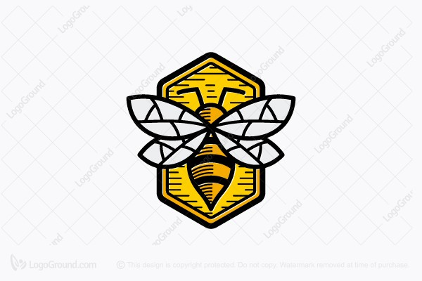 Logo for sale: Classic Bee Logo