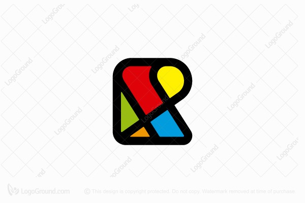 Logo for sale: R Icon Logo