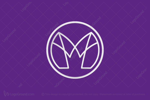 Logo for sale: Eco M Crown Logo