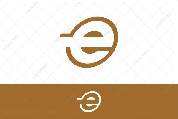Logo for sale: Golden E Logo