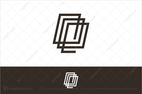 Logo for sale: Black Spring Cube Logo