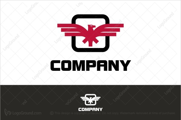 Exclusive Logo 162174, Company Eagle Logo