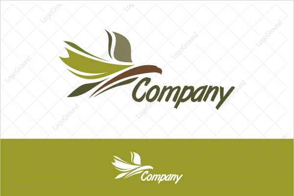 Logo for sale: The Green Eagle Logo