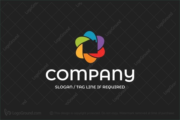 Logo for sale: Colorful Construction Logo