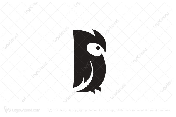 Logo for sale: Owl Minimalist Logo