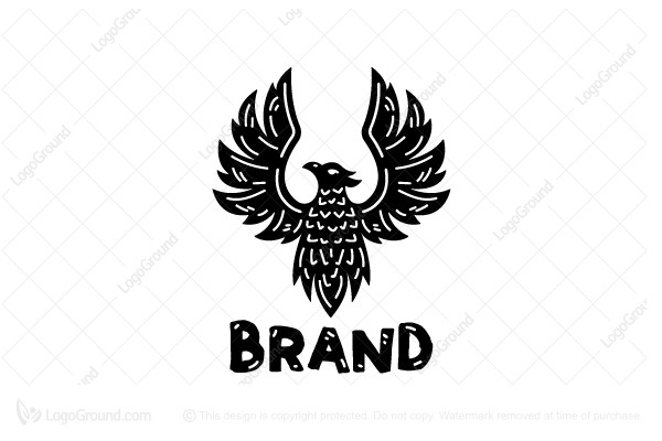 Logo for sale: Black Phoenix Logo