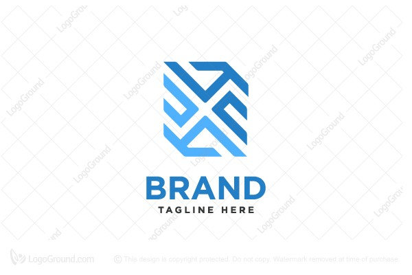 Logo for sale: Letter X Logo