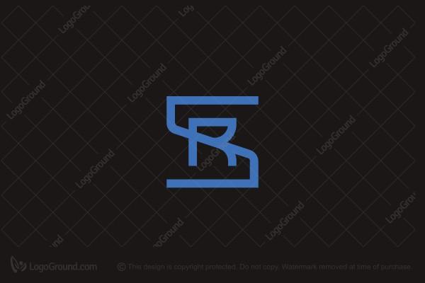 Sr Monogram Logo