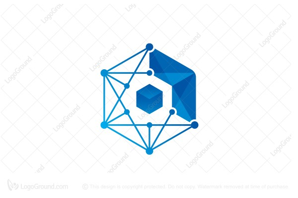 Logo for sale: Tech Network Logo