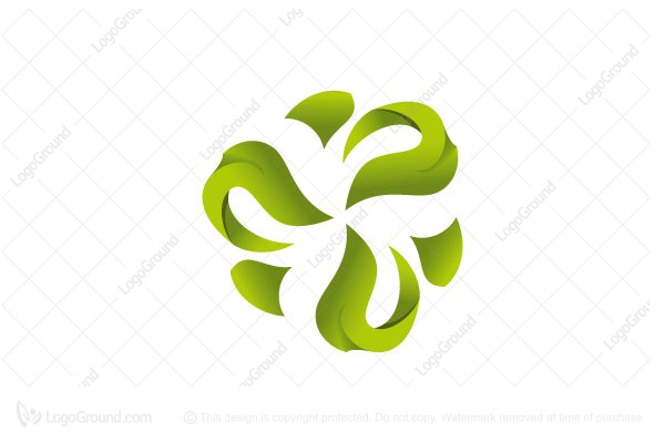 Logo for sale: Flower Green Logo