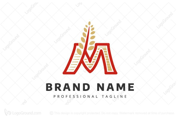 Logo for sale: Mill Food Logo