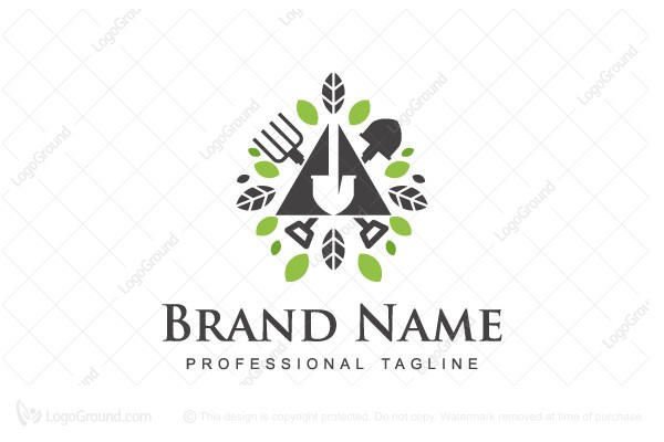 Logo for sale: Garden Logo
