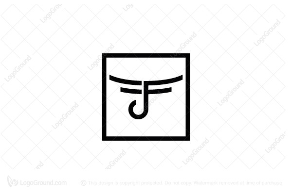Logo for sale: F Monogram Logo