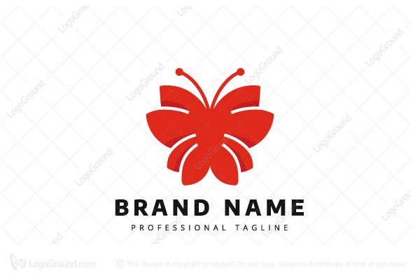 Logo for sale: Butterfly Logo