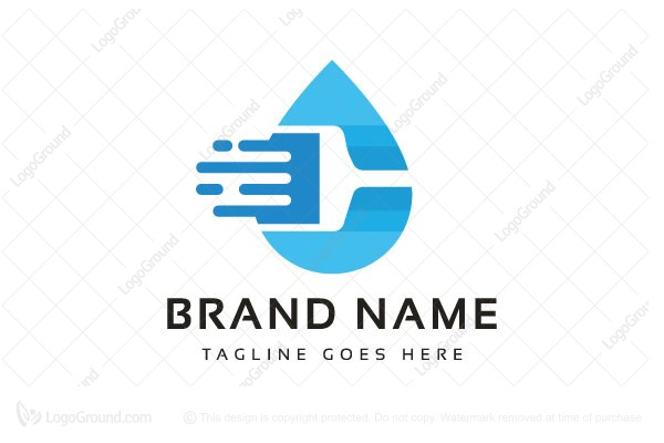 Logo for sale: Cleaning C Letter Logo