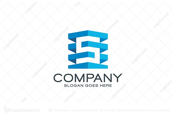 Logo for sale: S Letter Building Logo