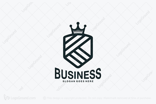 Logo for sale: King  Letter K Logo