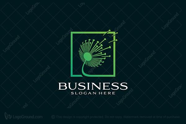 Logo for sale: Dandelion Logo
