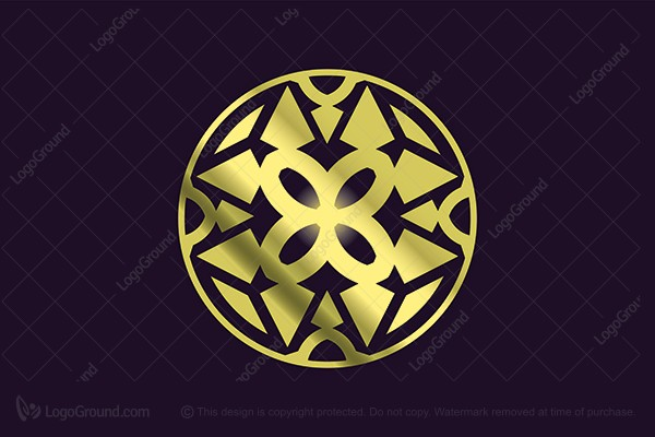 Logo for sale: Ornament Logo