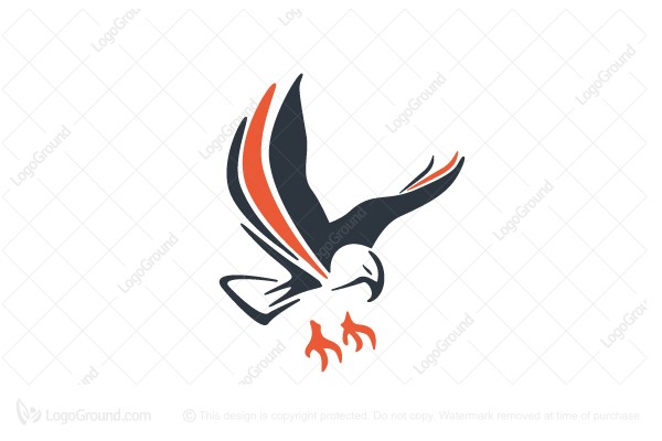 Logo for sale: Abstract Eagle Logo