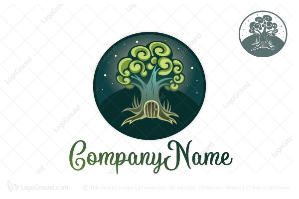 Logo for sale: Magic Tree Logo