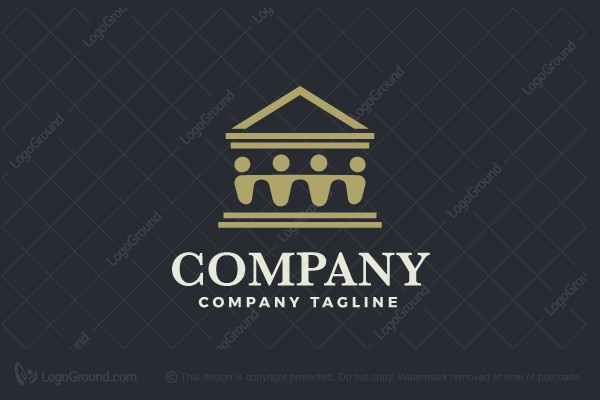 Logo for sale: Court People Logo