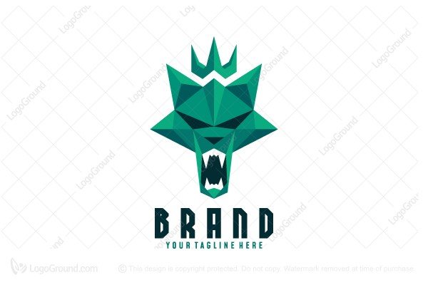 Logo for sale: The King Of Wolves Logo